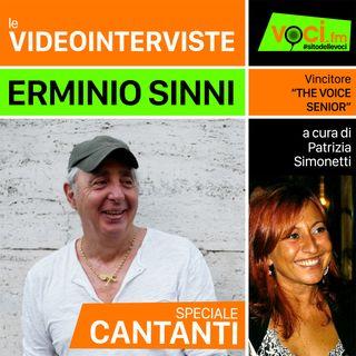 ERMINIO SINNI su VOCI.fm - clicca PLAY e ascolta l'intervista