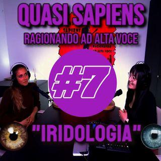 Conosciamo l'iridologia... (QS Podcast) con Federica Anselmi