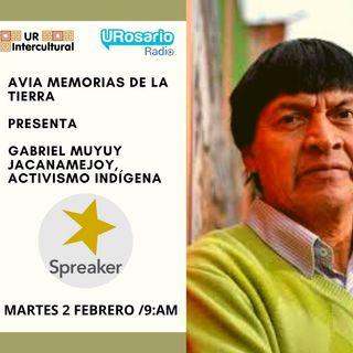 Gabriel Muyuy Jacanamejoy, activismo indígena