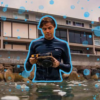 How to Photograph the Most Dangerous Waves in the World... Ft James Ferrell
