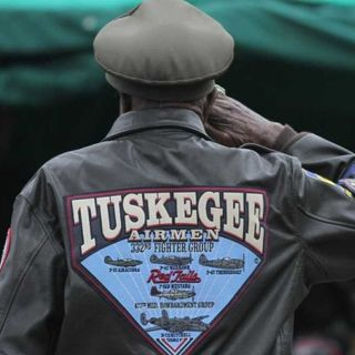 "Trevor Simoneau: ""Salute to Tuskegee Airmen"""