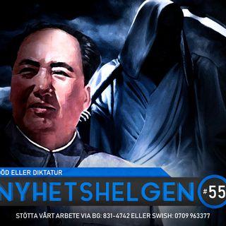 Nyhetshelgen #55 – Död eller diktatur, kungens tal, dags för munskydd