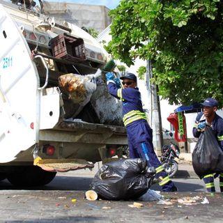 El camión de la basura