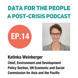 Katinka Weinberger - Chief of Environment and Development Policy Section (EDPS) at UNESCAP
