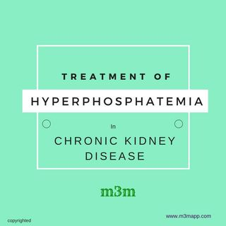 Hyperphosphatemia Treatment in CKD