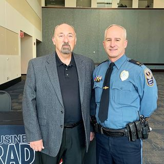 2021 VALOR AWARDS: Major Chris Smith with Gwinnett County Police Department