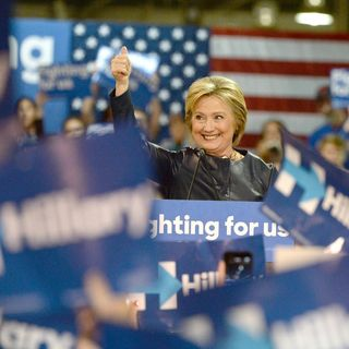 Hillary Clinton Celebrates Primary Wins