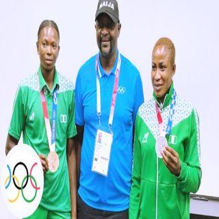 2020 Tokyo Olympics:  Federal Government of Nigeria Rewards Medalists Oborududu, Brume.