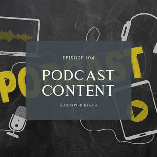 How to create tons of Podcast Content | Podcasting Series