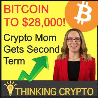 BITCOIN To $28K This Year Says Bloomberg - Crypto Mom Second Term - Ripple XRP Brazil Central Bank