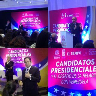 Con Venezuela como eje temático, así se vivió el Debate presidencial en URosario