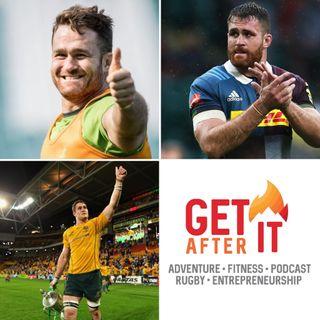 Episode 104  - James Horwill - Former Australia, Queensland Reds and Harlequins captain