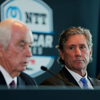 Penske-Hulman  and  Co News Conference