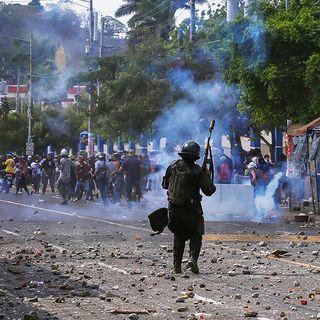 Crisis de Nicaragua en la agenda periodistica internacional
