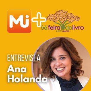 Entrevista com a jornalista Ana Holanda - MJ na 66ª Feira do Livro de Porto Alegre
