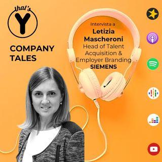 Company Tales con Letizia Mascheroni - SIEMENS