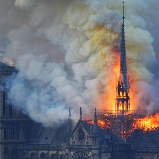 A vow to rebuild after #NotreDameFire ravages Cathedral Plus Old 1% #BernieSanders cornered on his wealth - #MagaFirstNews with @PeterBoykin
