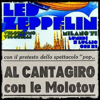 Led Zeppelin 1971 - L'Italia che ha spaventato il Grande Rock!