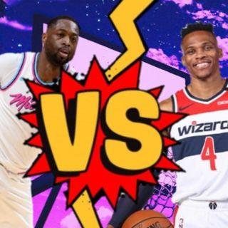 Dwyane Wade vs Russell Westbrook
