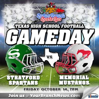 Memorial Mustangs vs Stratford Spartans Football 10/14