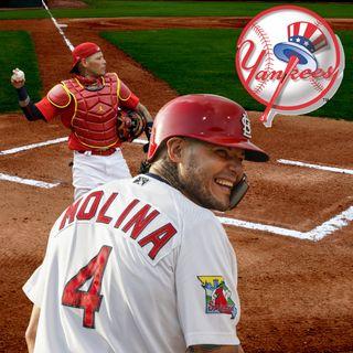 Yadi Molina es una de las opciones para los Yankees en 2021
