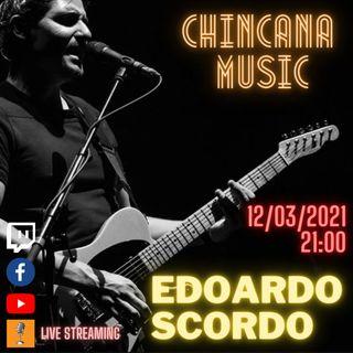 #6 Edo Scordo al Salotto Virtuale di Chincana Music