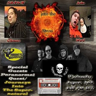 Special guests Paranormal Quest/ Journeys Into The Supernatural