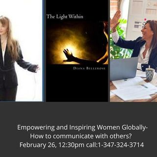 Empowering and Inspiring Women Globally-   How to communicate with others?
