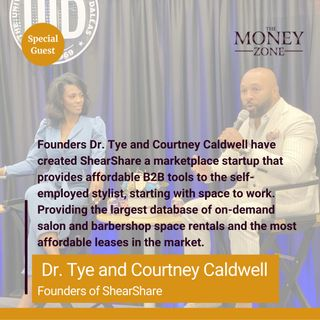 New Podcast!!! Providing Solutions - ShearShare #1 Salon and Barbershop Booth Rental App with Founders Dr. Tye and Courtney Caldwell