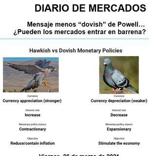 DIARIO DE MERCADOS Viernes 26 Marzo