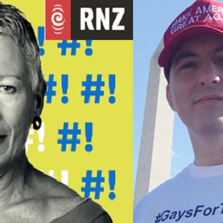 Listen How Peter Boykin Fights Against #FakeNews about @RealDonaldTrump & #GaysForTrump during a Full RNZ Interview with Kim Hill