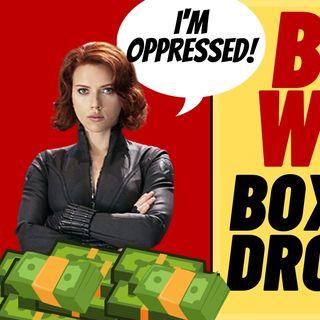 BLACK WIDOW Drops HUGE 80% At The Box Office, Get Woke Go Broke?