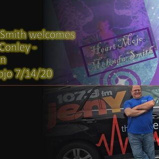 Heart Mojo with Melinda Smith and her guest Comedian Michael Conley 7_13_20