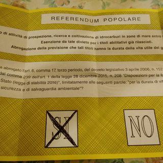 RENZI TEME IL REFERENDUM TRIVELLAZIONI TutoriaI Informazioni di voto per gli italiani residenti all'estero spiegazione del perché votare Sì