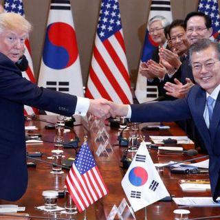 Mr Trump Meets Mr Moon