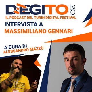 Puntata 01 - Intervista a Massimiliano Gennari, mente creativa di Deegito