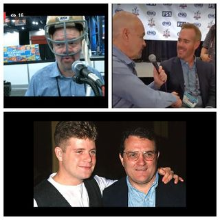 "LIVE from SuperBowl 51 Radio Row - ""Rudy"" Ruettiger & Joe Buck"