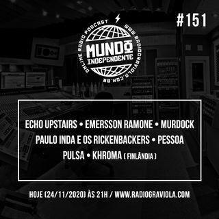 Ep. #151, por Daniel Sander & Val Becker + Rock Brasil Feminino