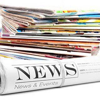 ritagli di giornale e novità editoriali