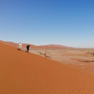 Namibia - dwa dni przy pustyni Namib