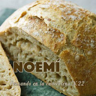 Noemí  (Reflexiones en la cuarentena N.22)