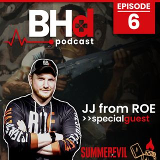 Episode #6: Interview with Residence of Evil's JJ (Summer of Evil Series 2020)