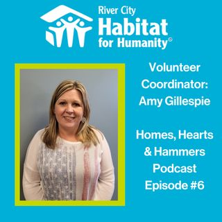 Episode #6: Volunteer Coordinator, Amy Gillespie