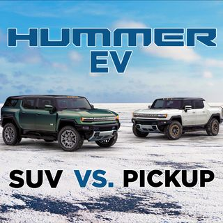 47. Hummer EV SUV vs. Pickup Truck | Cybertruck & Rivian Truck War