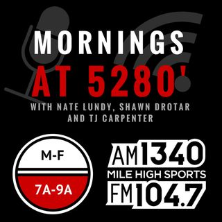 Mornings @ 5280: Yahoo!'s Brad Evans on a TNF OAKvsSF matchup made for tequila & smooth criminals
