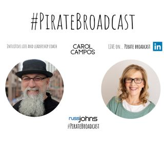 Join Carol Campos on the PirateBroadcast