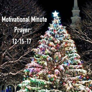 Prayer: 12-15-17