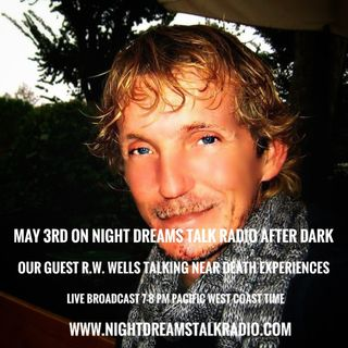 NIGHT DREAMS TALK RADIO AFTER DARK  Guest  R.W. WELLS