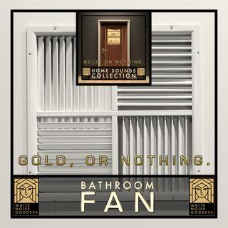 Bathroom Fan Sound | White Noise | ASMR & Relaxation