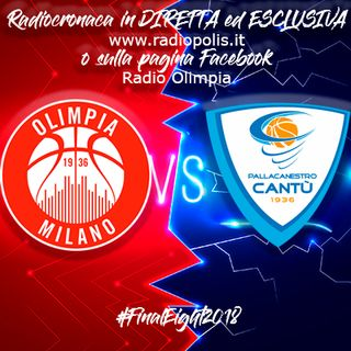 Final Eight 2018: Olimpia Milano vs Red October Cantù